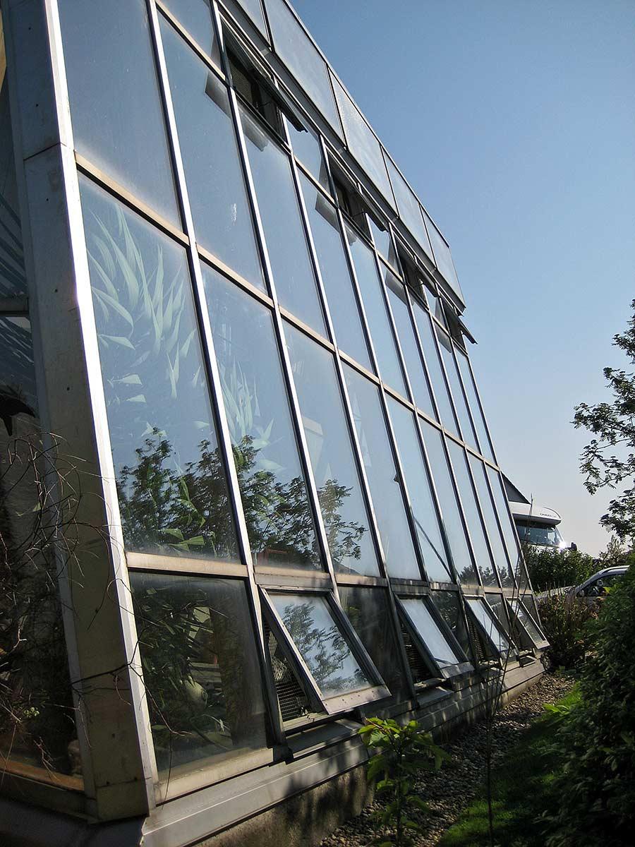 holzcoop glasfassade