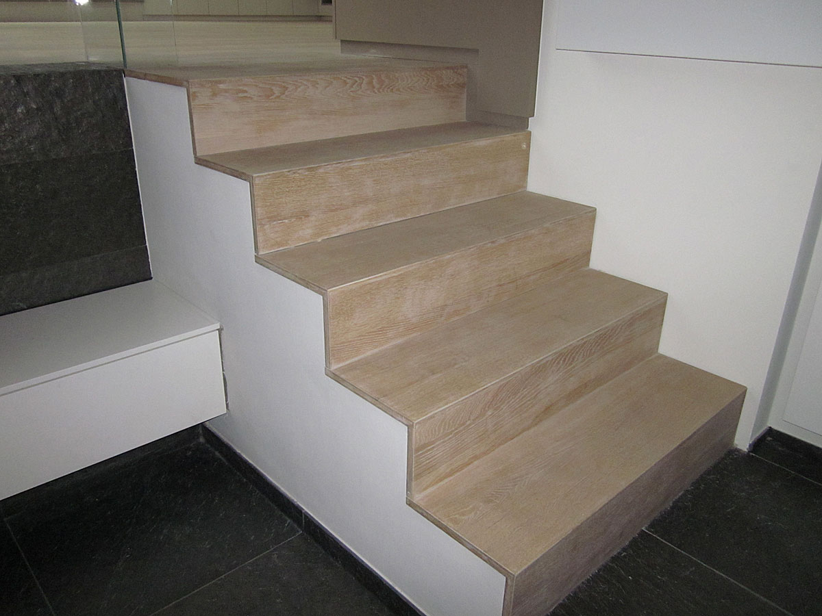 Holzcoop Treppe