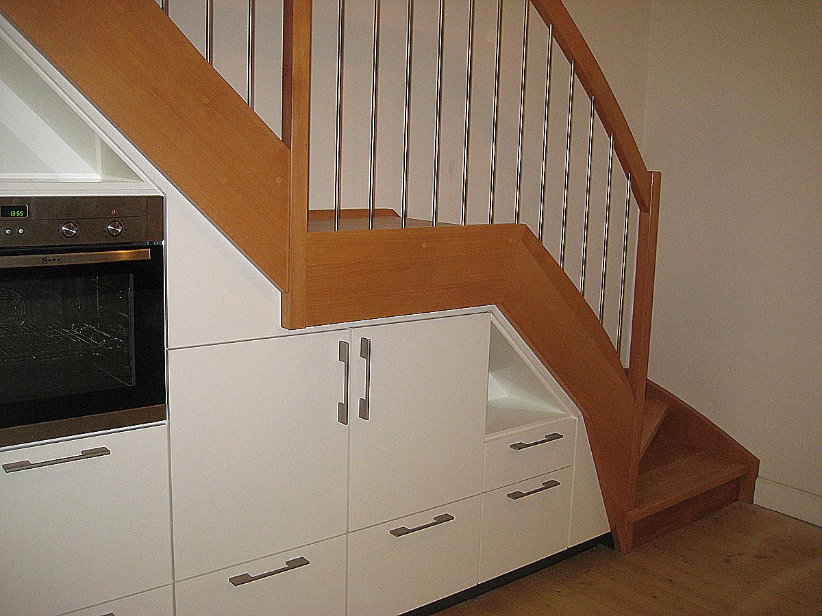 Treppenschrank Holzcoop Innenausbau Gmbh Aachen Brand Schreinerei