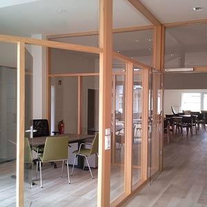 t ren und glastrennw nde holzcoop innenausbau gmbh. Black Bedroom Furniture Sets. Home Design Ideas