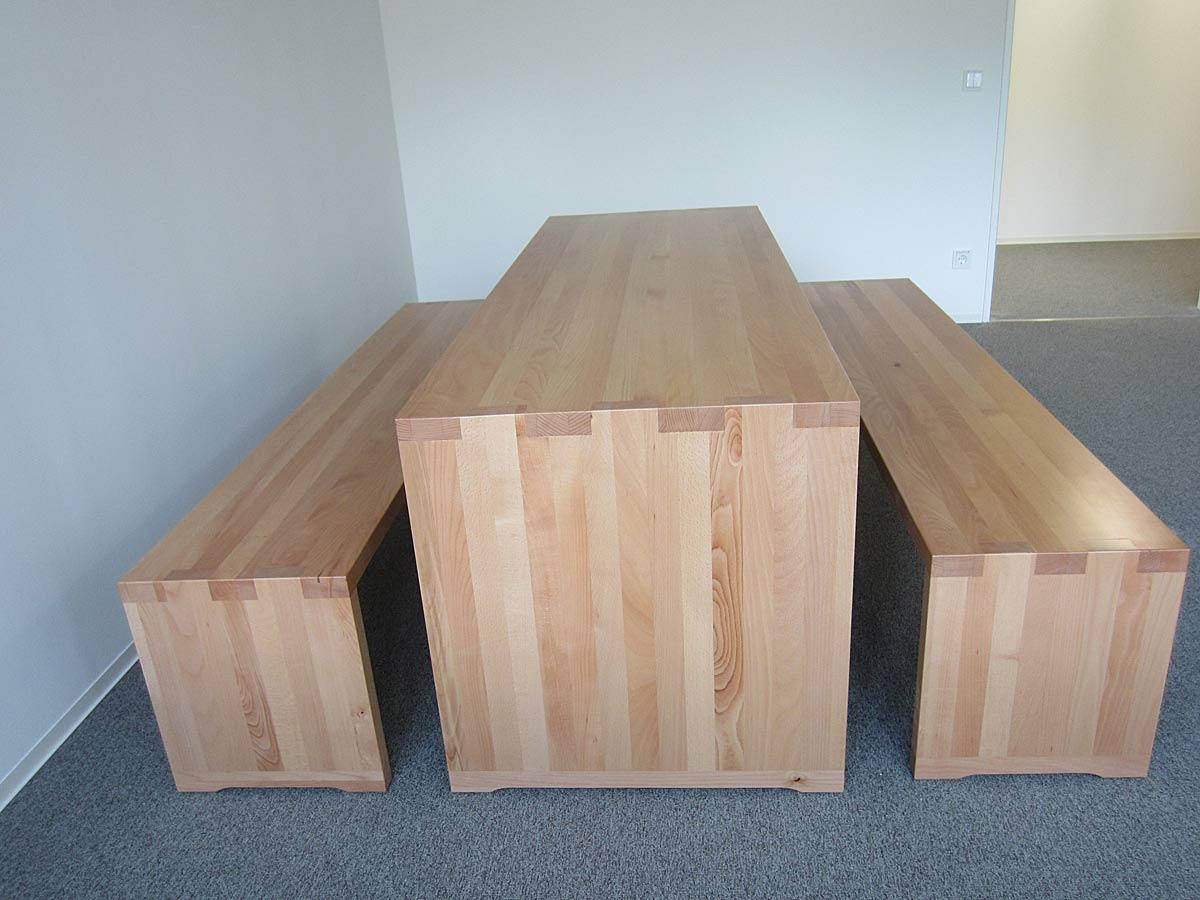 tisch und bank holzcoop innenausbau gmbh aachen brand schreinerei. Black Bedroom Furniture Sets. Home Design Ideas